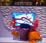 Hermes Boston Holiday Display 2008.